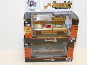 """M2 Squarebody Syndicate 1979 Chevrolet Silverado """"RAW CHASE"""" & Regular set"""