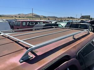 73-91 7th Generation Chevrolet GMC Suburban Chrome Roof Luggage Rack COMPLETE