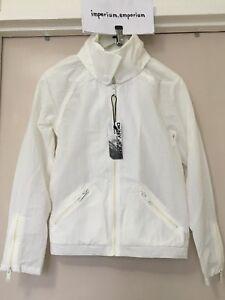 Women's DKNY Jeans Windcheater/Windbreaker Jacket Coat White Size S