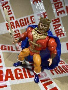 Mattel Vintage Heman MOTU King Randor vintage action figure - repro cape