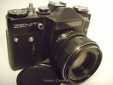 1981 KMZ Zenit EM 35mm SLR camera with Helios 44M-4 f2 lens