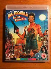 Big Trouble in Little China Arrow Video Region B Blu-Ray