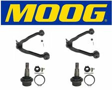 Moog Set Of 2 Upper Control Arms & Lower Ball Joint Fits 2005 GMC Savana 1500