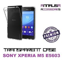 COVER TRASPARENTE SONY XPERIA M5 E5603 CUSTODIA PROTEZIONE TPU CRYSTAL CASE