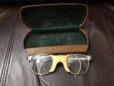 All American Athletic Glasses Vintage With Case 1960's