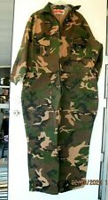 "Winchester Camo Coveralls sz XL Nice Clean 52"" Chest"