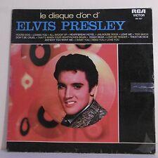 """33T Elvis PRESLEY Disque LP 12"""" LE DISQUE D'OR - RCA VICTOR 461.037 Frais Reduit"""