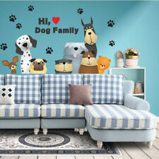 Dogs Paw Wall Stickers Animal Wall Art Sticker For Kids 45x60cm Home Decoration