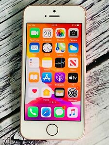 Apple iPhone SE 128GB (Unlocked) - Rose Gold - A+ (Grade) Pristine Condition