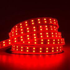 Lot 10PCS Dual Double Roll Red 5M 600 Leds 5050 Led Strip Lights IP67 Waterproof