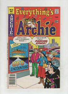 EVERTHING'S ARCHIE #65 NM-, flying saucer, UFO cover, Bob Bolling art, 1978
