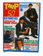 Top 50 n°54 - 1987 - Poster Goldman Lalane - France Gall - Images - Stranglers
