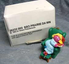 GROLIER PRAIRIE DAWN CHRISTMAS ON SESAME STREET ORNAMENT 003 with BOX