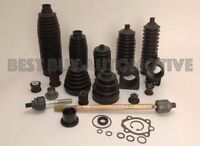 BMW 2500 2800-INC 4 CLAMPS-Rear CV Axle Inner /& Outer Boot 6 Piece Kit-Fits