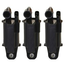 Set of 3 Denso Direct Ignition Coils for Lexus GS300 IS300 3.0L L6 GAS 2JZ-GE
