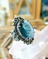 Rare Faerie portal! Cleansing magic & sirens allure crystal ring of wishes ring