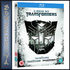 TRANSFORMERS - 3 MOVIE COLLECTION  **BRAND NEW BLU-RAY   **