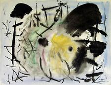 """""""Composition"""" Peinture signée Marcel NEVEU"""