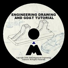 ENGINEERING DRAWING GD&T TUTORIAL 6+HRS TRAINING DESIGN SOLIDCAM MASTERCAM