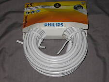 Philips Digital Coax Cable Satellite A/V CD DVD Video Components 25 ft NEW!