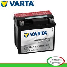 Batteria Varta Moto Malaguti M Phantom F  12 AC 100 01/99> 12V 4Ah 80A 504012003