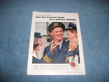 1959 Lucky Strike Cigarettes Vintage Airline Pilots and Stewardess Ad