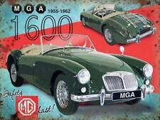 MGA 1600 voiture de sport mg classique années 50 ROUTE VOITURE MG medium métal