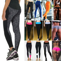 Women's Sports Gym Yoga Running Fitness Legging Pants Stretchy Athletic Workout