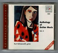 ANTHOLOGY OF GUITAR MUSIC Vol 4 Kurt Schneeweib - guitar CD Album CA