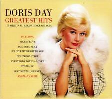 DORIS DAY - GREATEST HITS - 75 ORIGINAL RECORDINGS (NEW SEALED 3CD)
