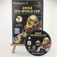 2002 FIFA World Cup (Sony PlayStation 2 PS2, 2002) Black Label Original Case