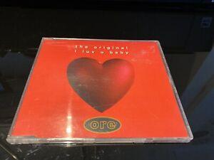 The Original - I Luv U Baby (1995 CD Single)