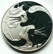 Yin Yang Cats American Silver Eagle 1oz  .999 LImited Edition Silver Dollar Coin