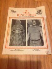 The Ringsider WCW GCW Ric Flair Tony Atlas Dick Murdoch Larry Zbyszko SIGNED!!!!