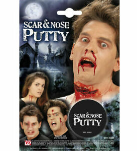 SCAR AND NOSE PUTTY FANCY DRESS ZOMBIE HALLOWEEN THEATRICAL SPECIAL EFFECT FILM