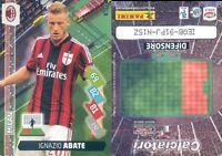 CALCIATORI 2014/15*ADRENALYN PANINI CARD N.211*MILAN-ABATE*NEW