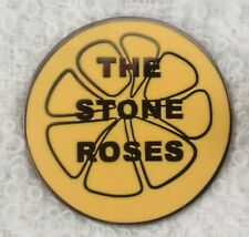 The Stone Roses 'Lemon' Enamel Badge.Ian Brown,Primal Scream, Tickets