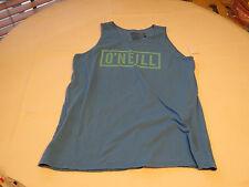 Boys youth O'Neill surf skate M tank top shirt Youth BRP blue block tank 6123102