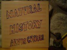 ALVIN CURRAN Natural History LP/1983/Musique Concrete/John Cage/Nurse With Wound