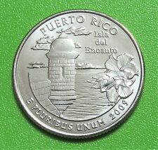 2009-D 25C Puerto Rico Territory Quarter - Uncirculated from Mint Roll