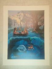 """Mermaid Tea Party"" Limited Edition Signed by Jim Warren Lithograph"