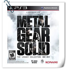 10 IN 1 PS3 Metal Gear Solid The Legacy Collection MGS SONY Action Games Konami