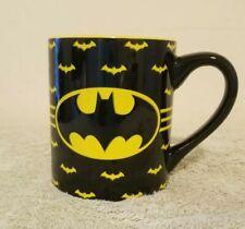Batman DC Comics Black & Yellow 14 Ounce Coffee Mug
