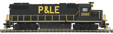 MTH HO Pittsburgh & Lake Erie GP38-2 Diesel w/DCC and Sound Decoder 85-2035-1