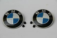 NEW ORIGINAL BMW EMBLEM LOGO GENUINE OEM BADGE HOOD & TRUNK LID E30 M3 1988-1994