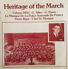 La Musique De La Police Nationale De France, Heritage Of The March, Vinyl LP 33T