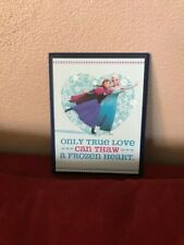 Hallmark Disney Frozen Elsa Anna Decorative Plaque