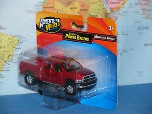 MAISTO ADVENTURE WHEELS POWER RACERS 2002 DODGE RAM QUAD CAB ***BRAND NEW***