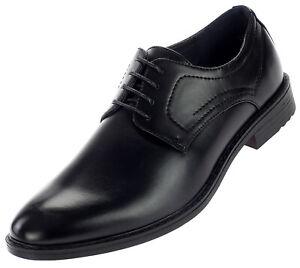 Herren Business Schnürer Halbschuhe Anzug Schuhe Abendschuhe 18884 Schwarz 40-46