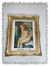 "Aimant Magnet Tableau "" Baigneuse Assise "" Auguste Renoir Neuf"